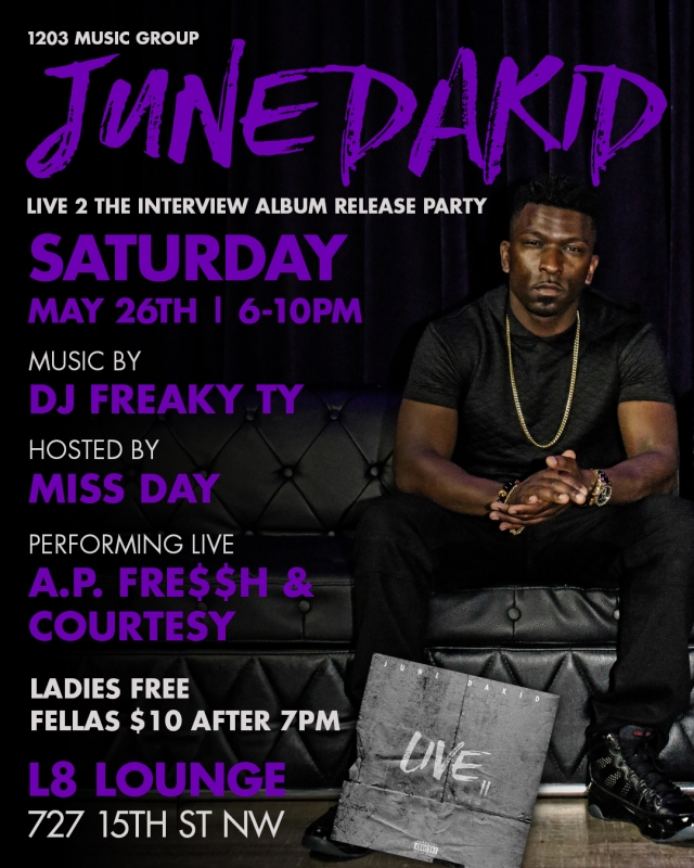 June DakidAlbum Release Party Photo